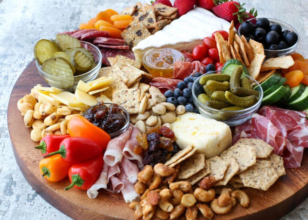 Cheese Board & Meat Platter